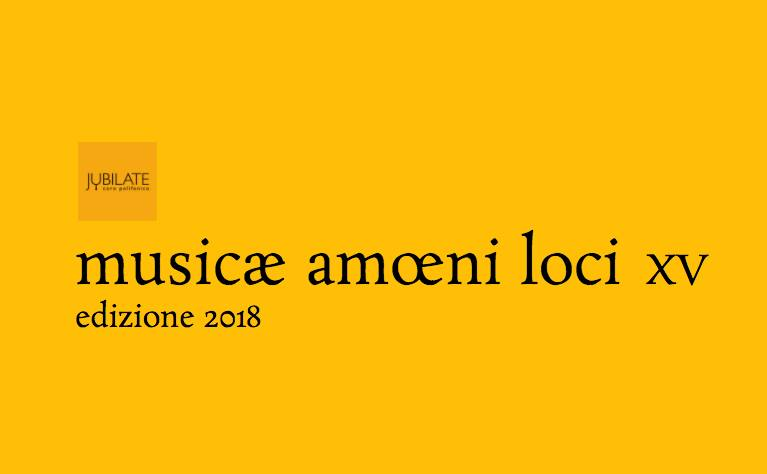 Locandina Musicae Amoeni Loci