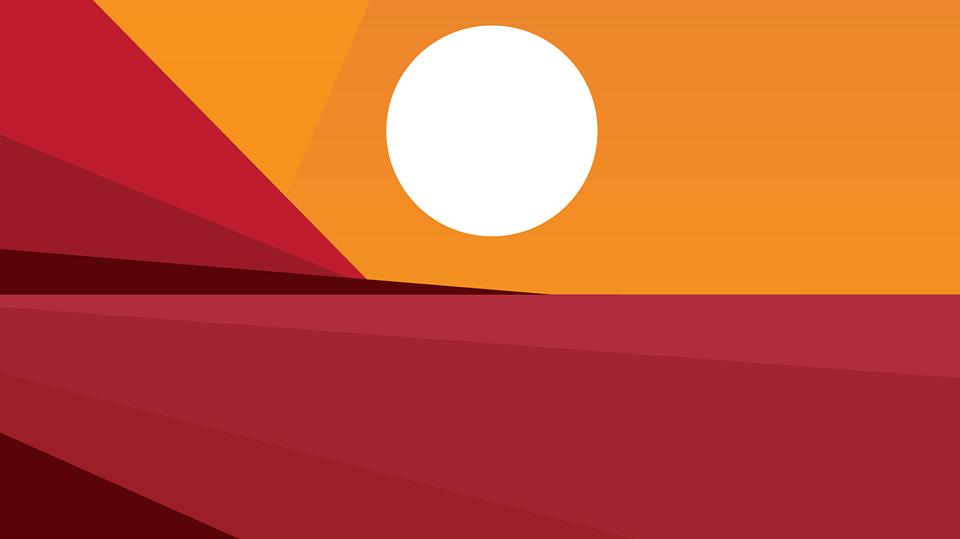 Dal tramonto all'alba / Sunset best view logo
