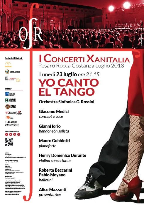Locandina Concerto Xanitalia 2018