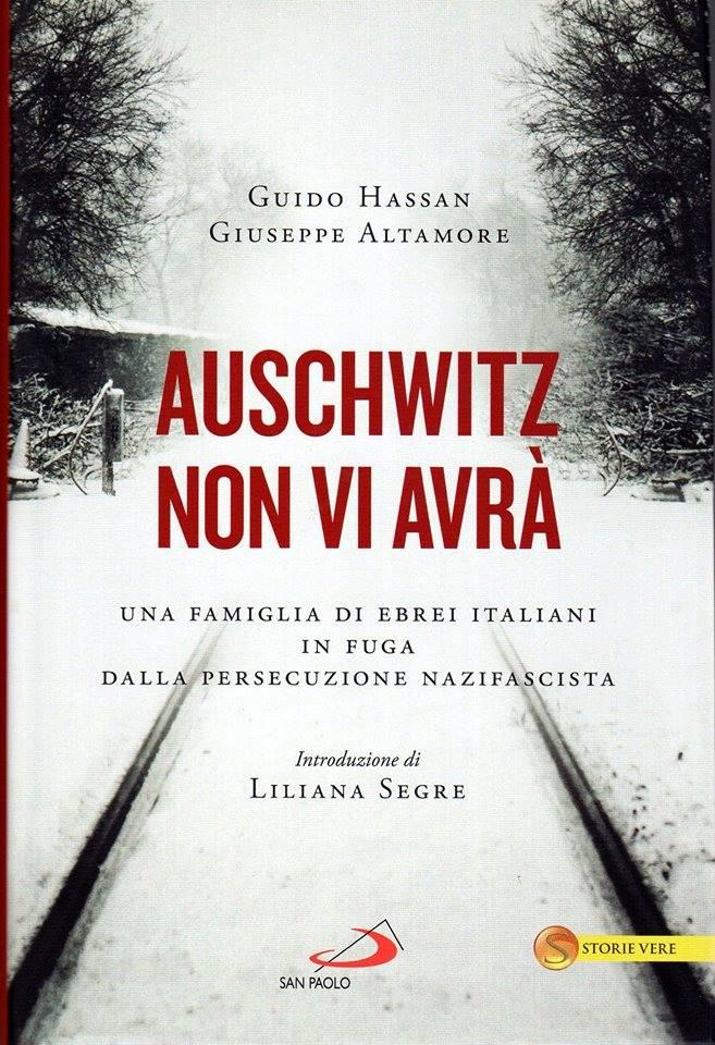 Auschwitz non vi avrà. Copertina del volume