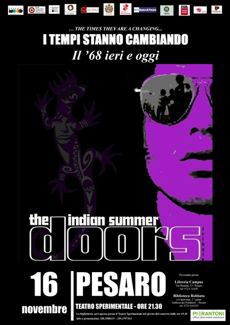 Concerto The Indian Summer - The Doors Tribute Band