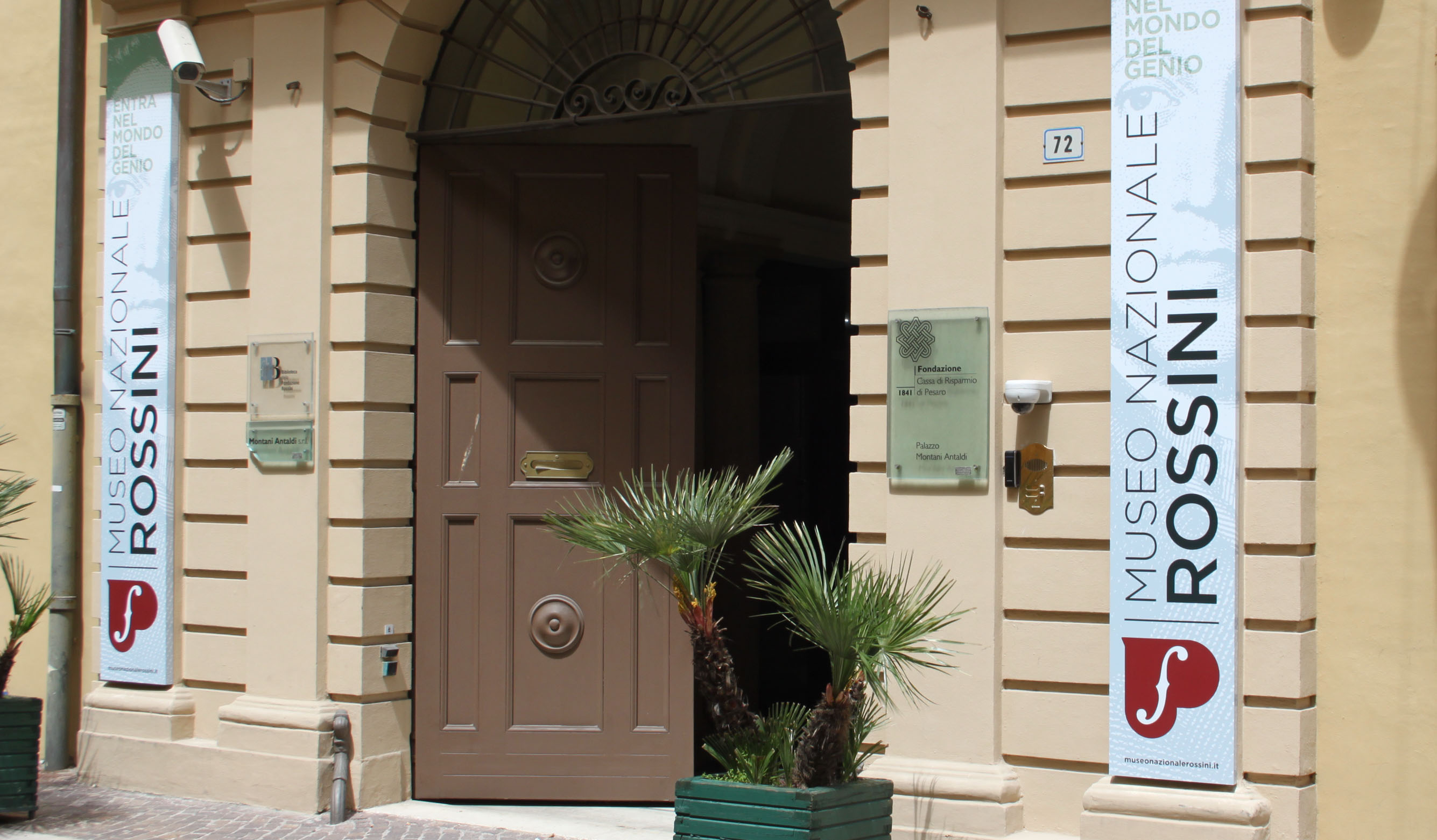 Museo Nazionale Rossini_facciata