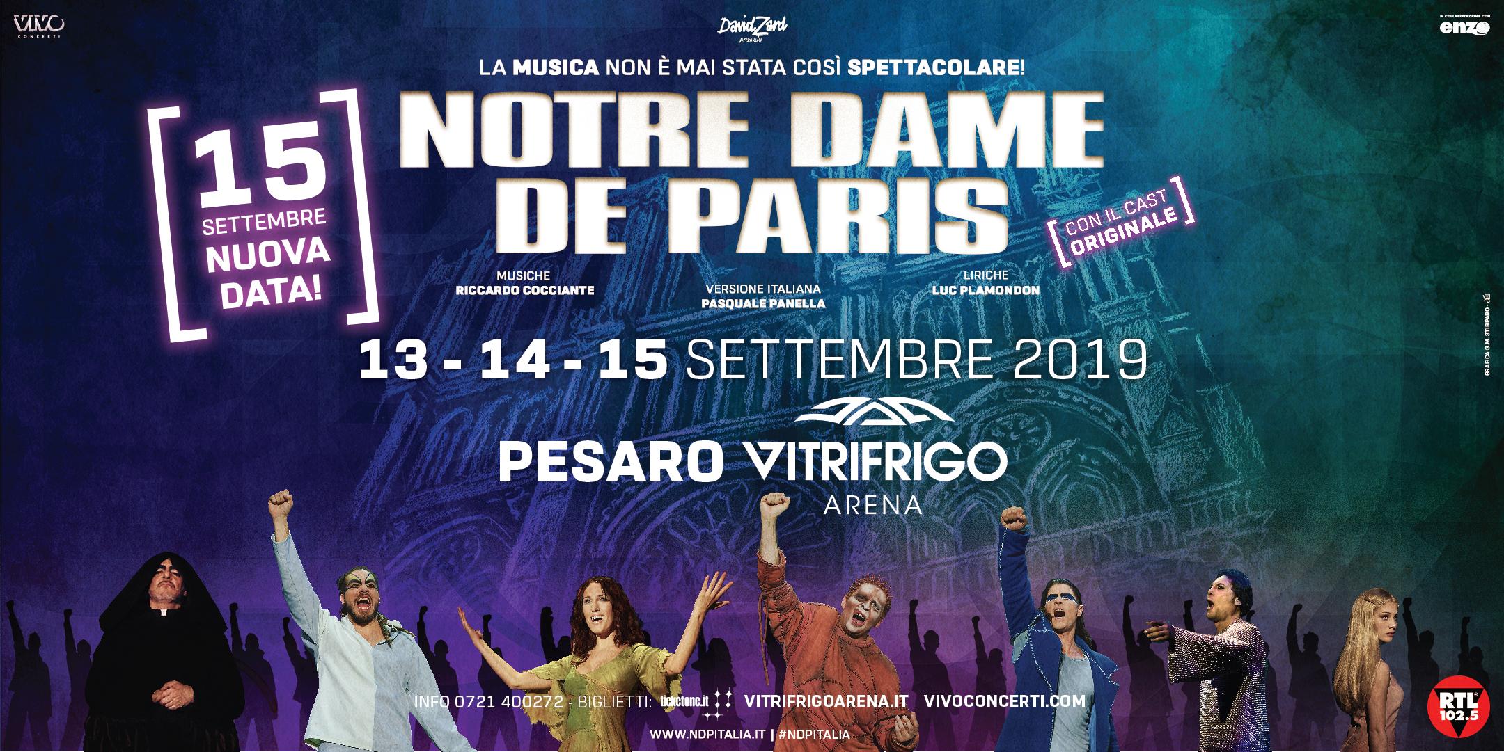 """Notre Dame de Paris""""_locandina"""