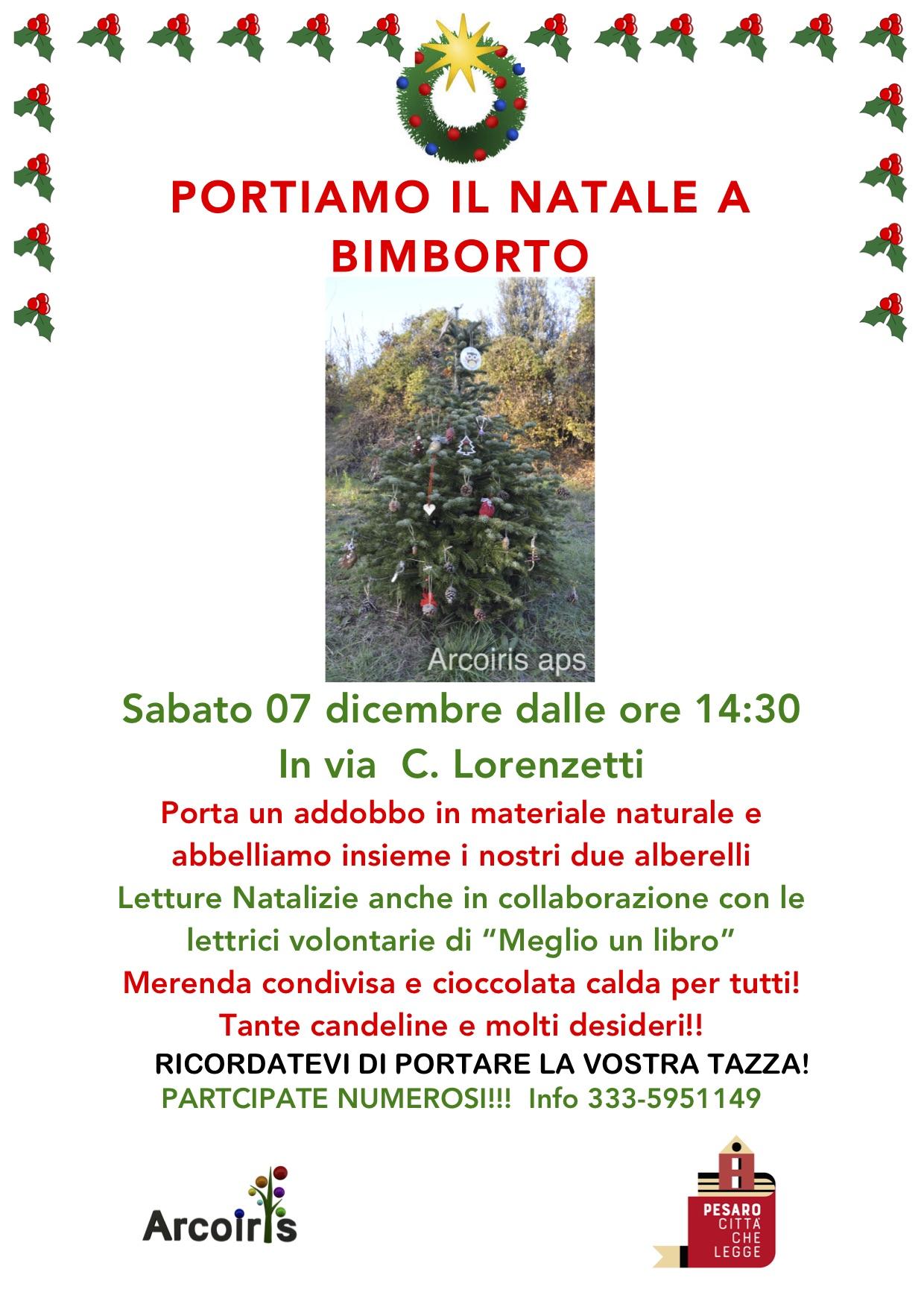 Portiamo il Natale a BimbOrto
