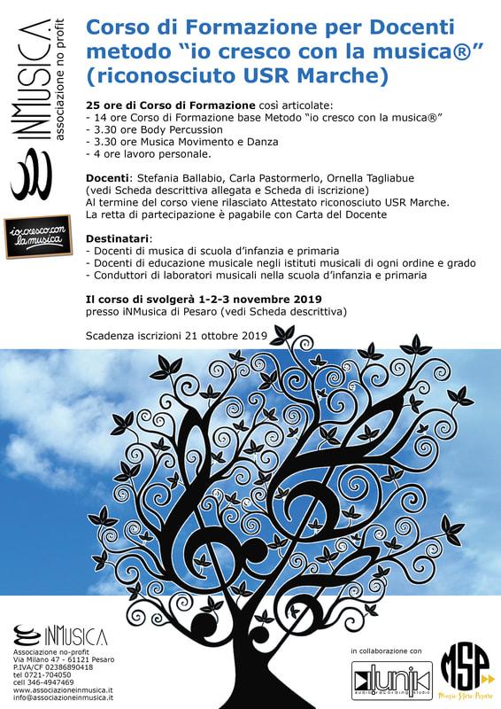 CORSO DI FORMAZIONE PER DOCENTI musical