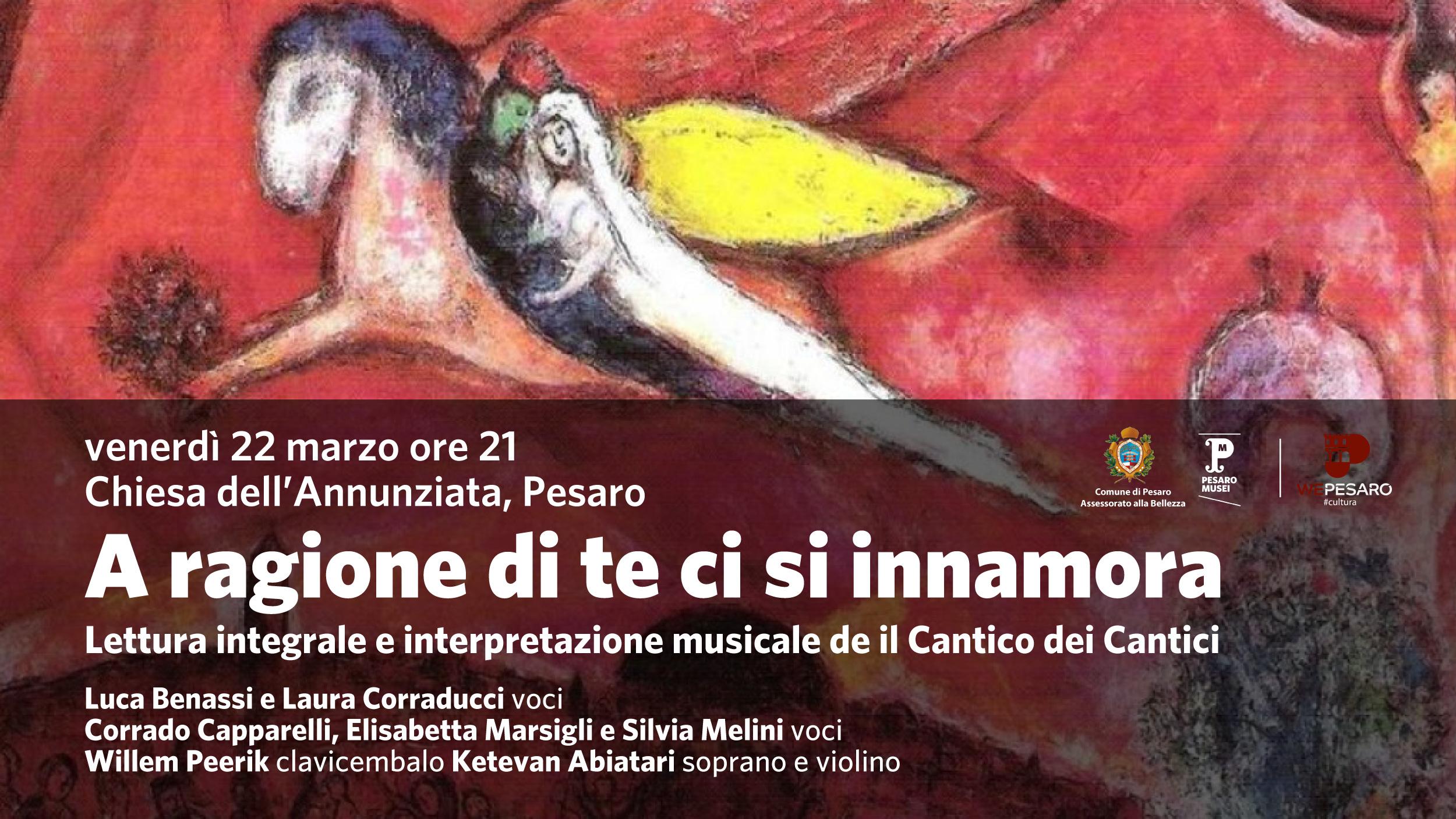Il Cantico dei Cantici: letture e musica_locandina