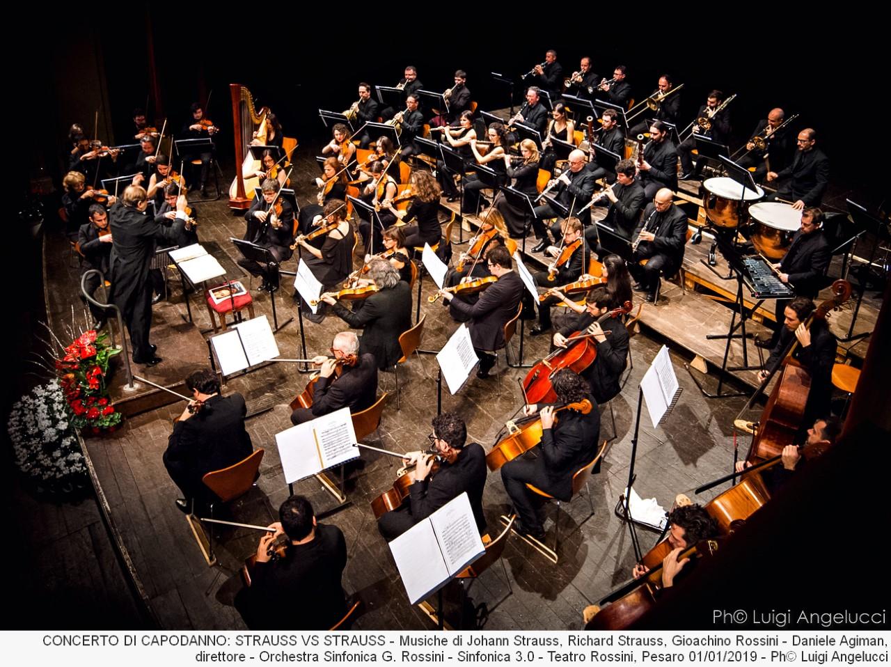 Orchestra Sinfonica Rossini ph. Luigi Angelucci