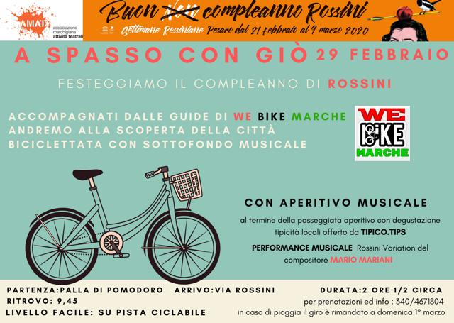 """A spasso con Giò""""_Buon Compleanno Rossini"""