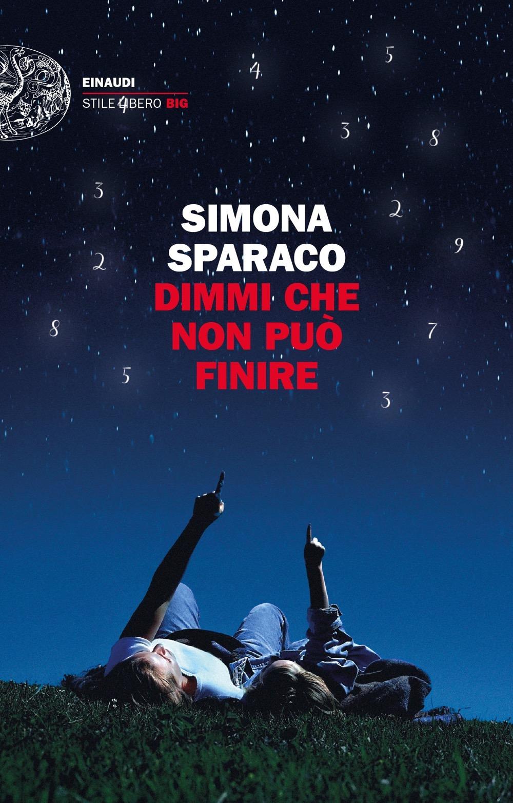 Simona Sparaco Dimmi che non può finire. Copertina