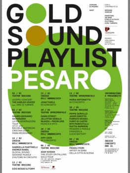 Manifesto Gold Sound Playlist Pesaro