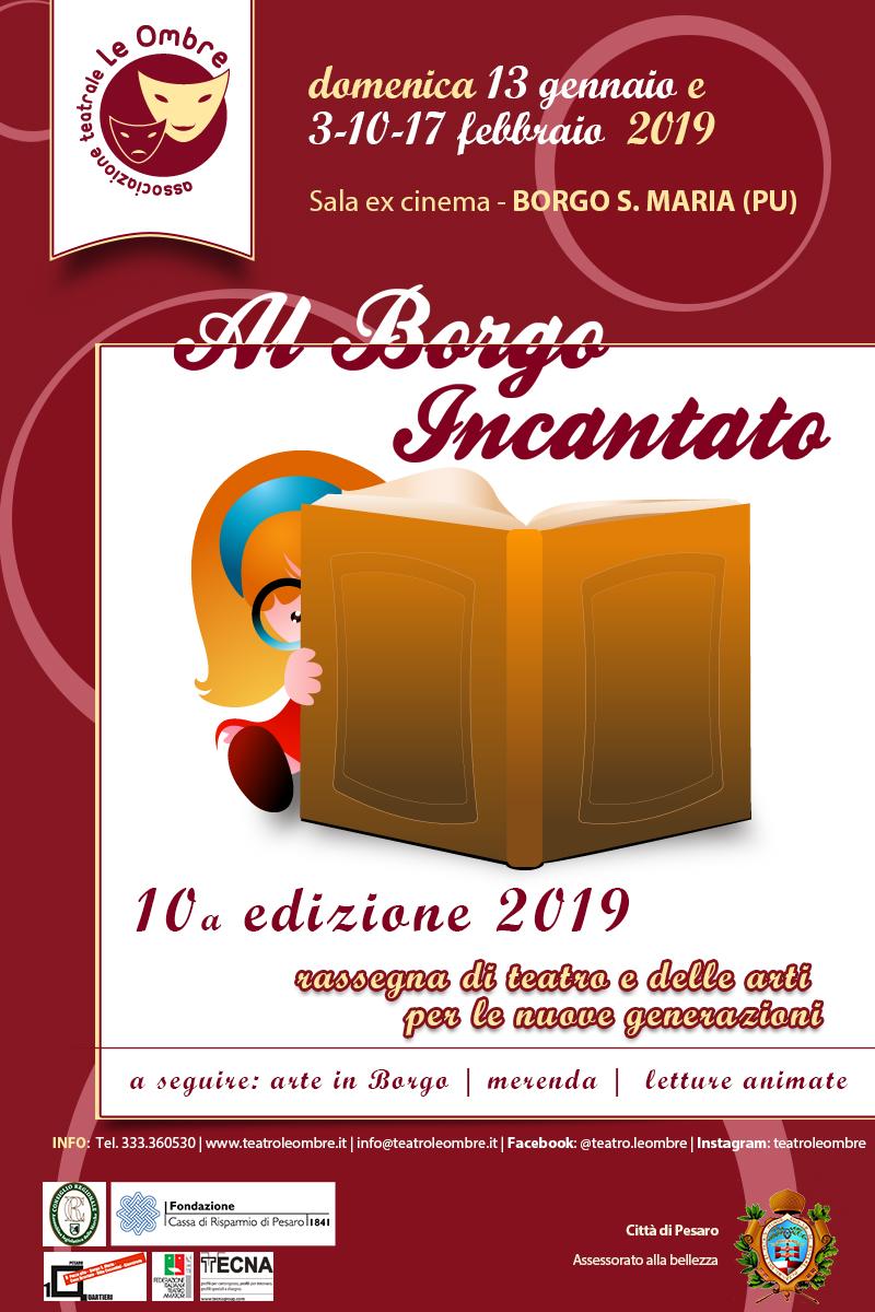 Al Borgo Incantato 2019_locandina