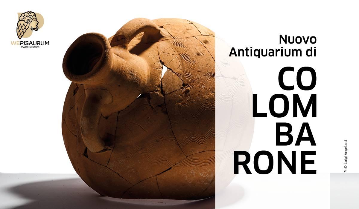 Colombarone inaugurazione Antiquarium