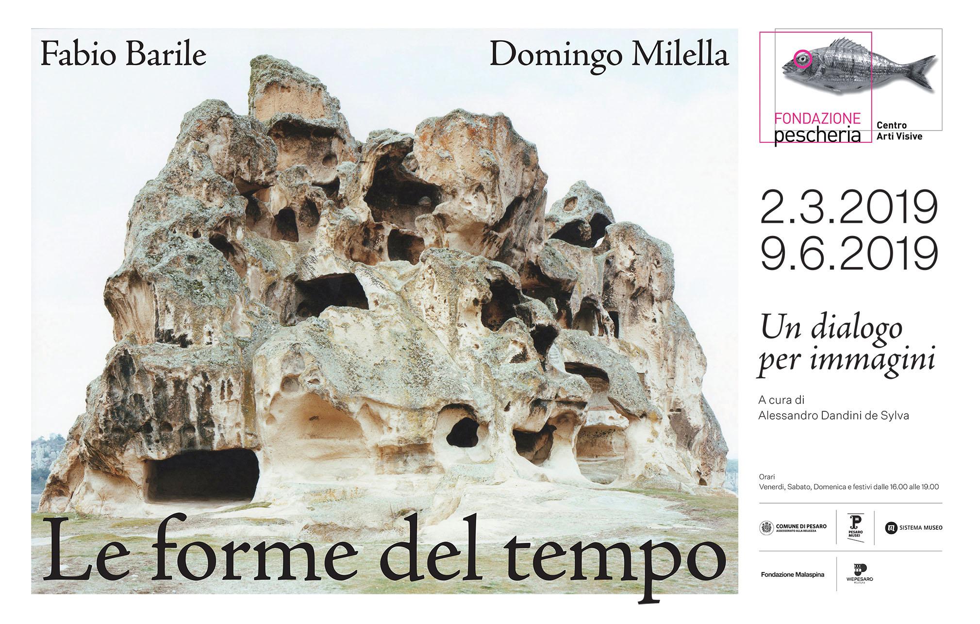 Fabio Barile e Domingo Milella: Le forme del tempo Un dialogo per immagini_stendardo