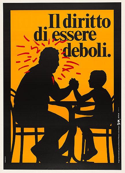 Il diritto di essere deboli. Massimo Dolcini