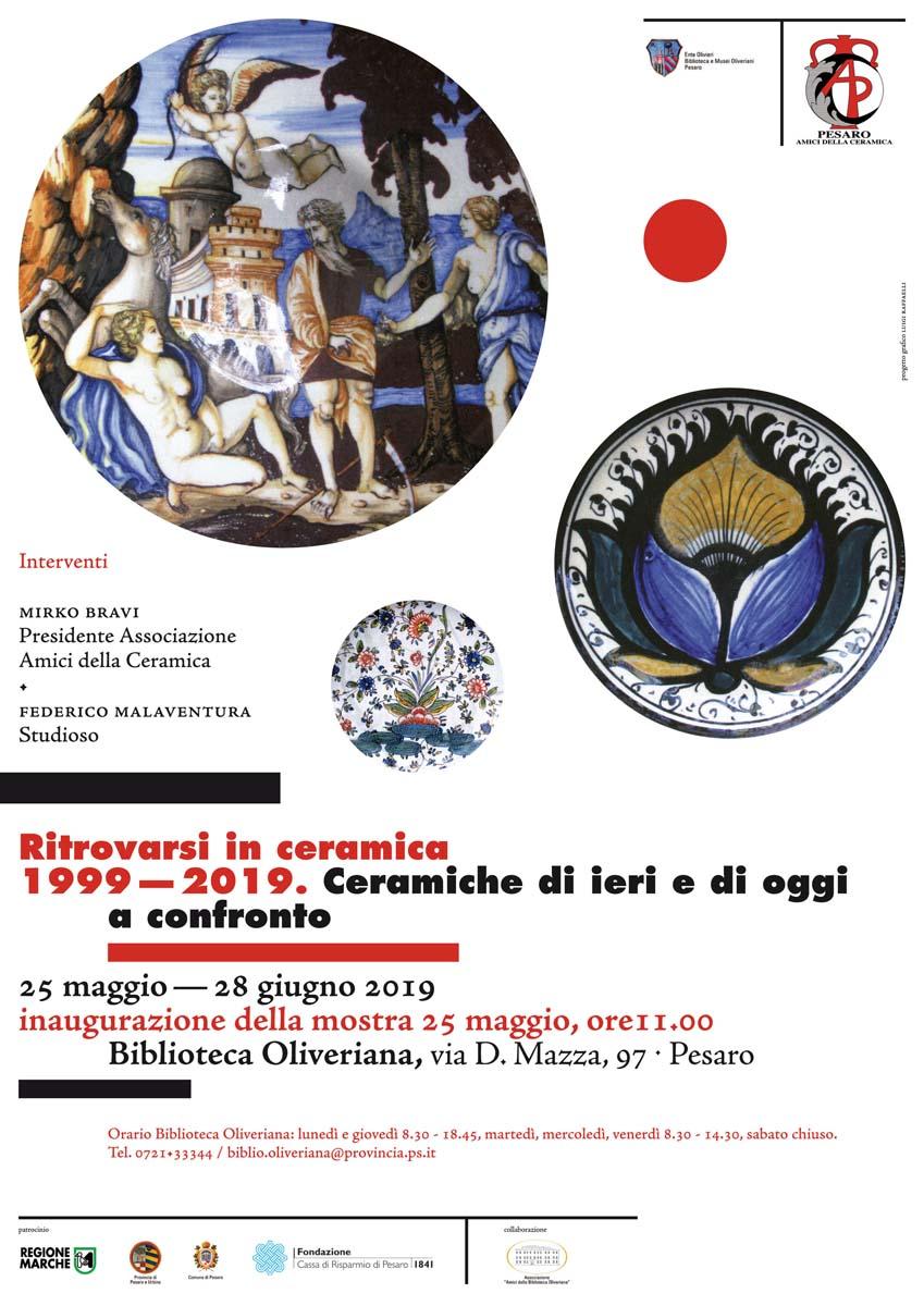 Ritrovarsi in ceramica 1999/2019_locandina