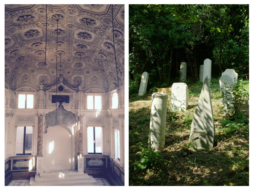 Sinagoga e cimitero ebraico