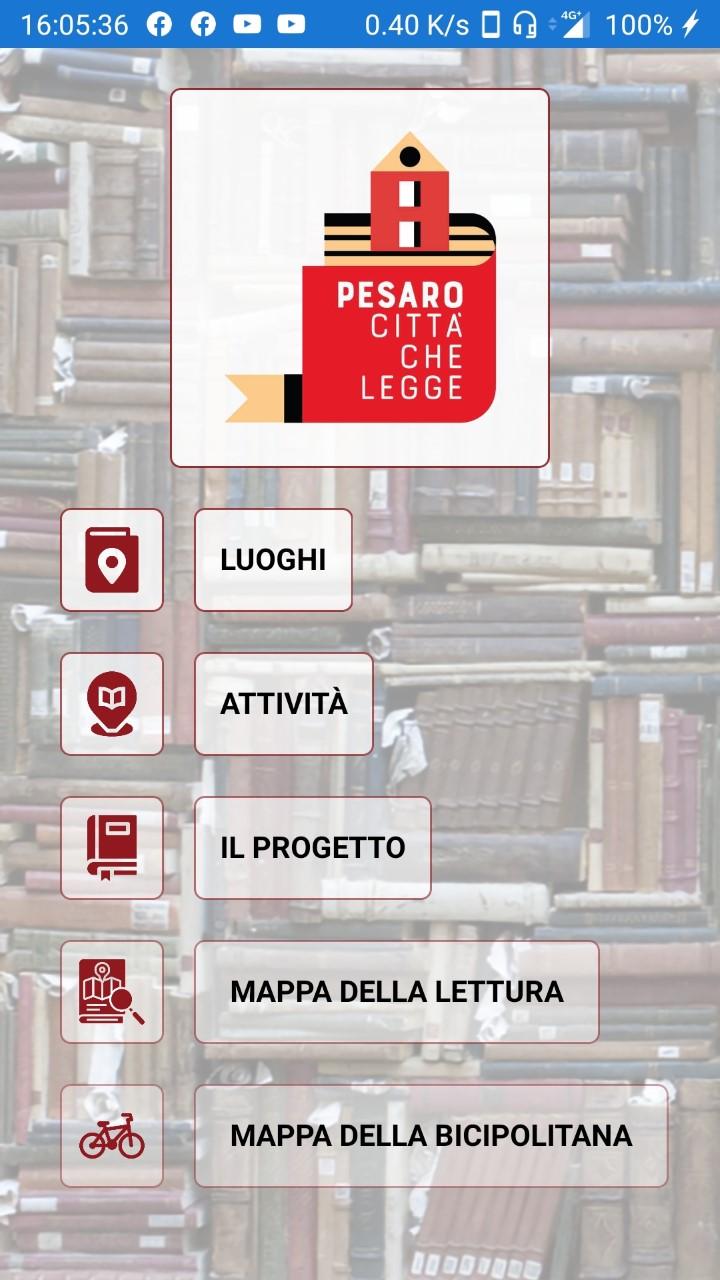 App Pesaro che legge
