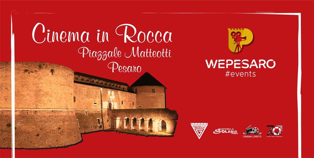 Cinema all'aperto a Rocca Costanza