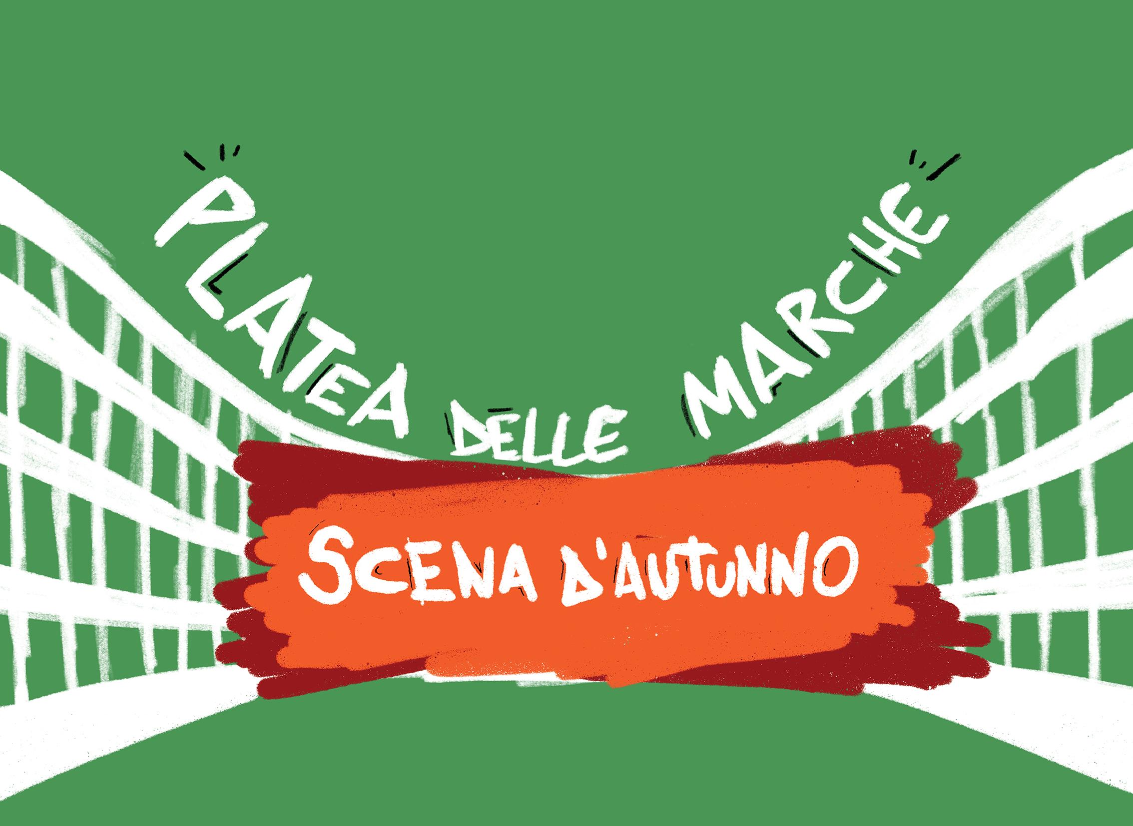 Platea delle Marche Scena d'Autunno logo