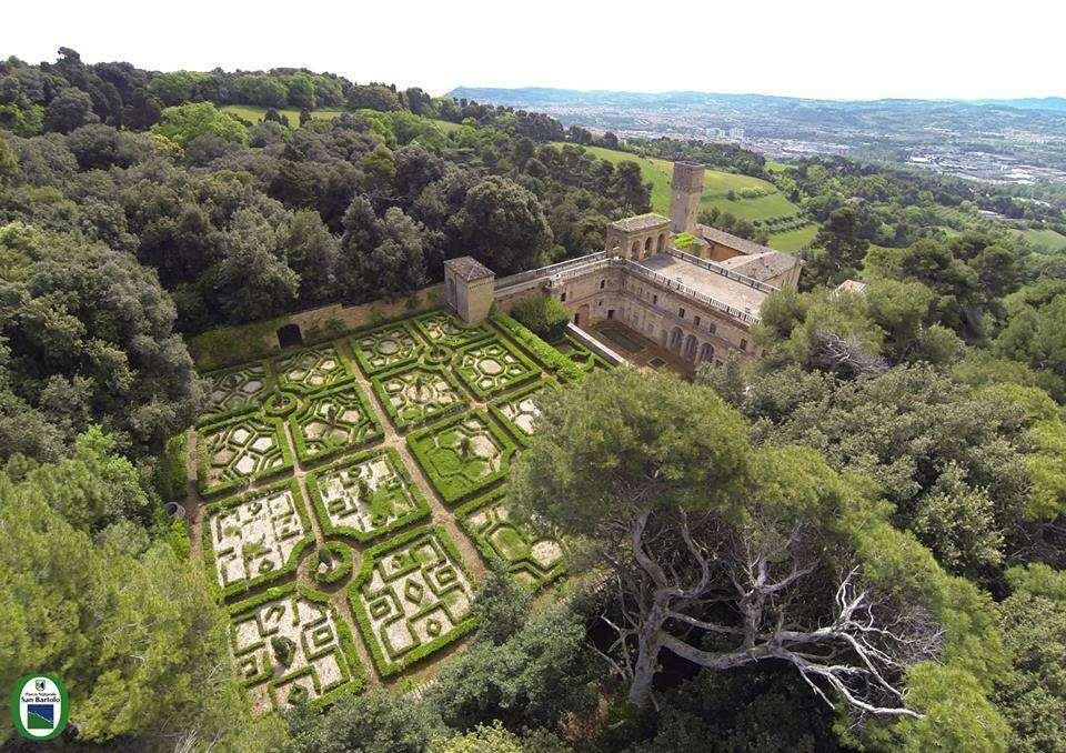 Veduta di Villa Imperiale