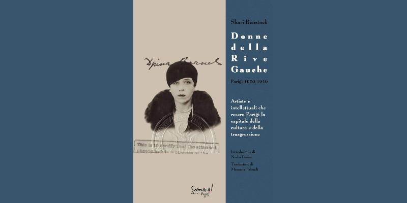 copertina del libro con fotografia di donna