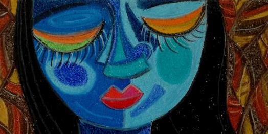 Dipinto dell'artista Romina Yanela Tassinari