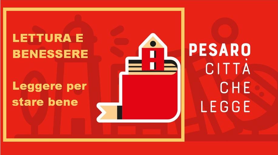 Particolare Locandina con logo Pesaro Città che legge