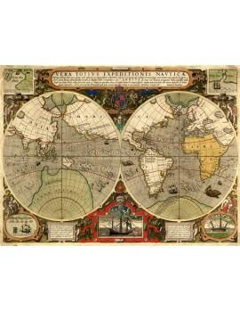 Immagine di una mappa antica tratta dalla locandina