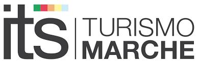 logo con scritta its turismo marche colorata
