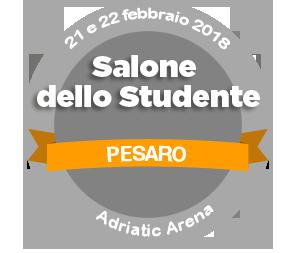 Logo Salone dello Studente grigio e giallo