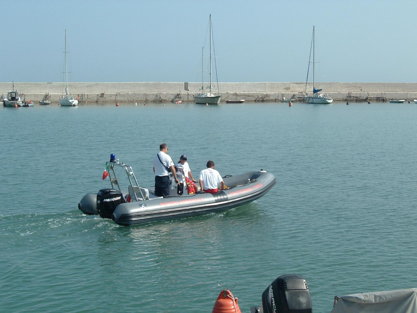 Foto salvataggio in mare
