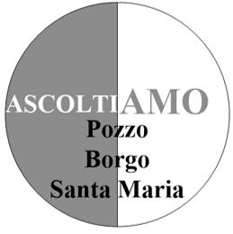 logo lista Ascoltiamo Pozzo Borgo Santa Maria