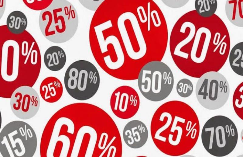Immagine raffigurante la percentuale di sconto.