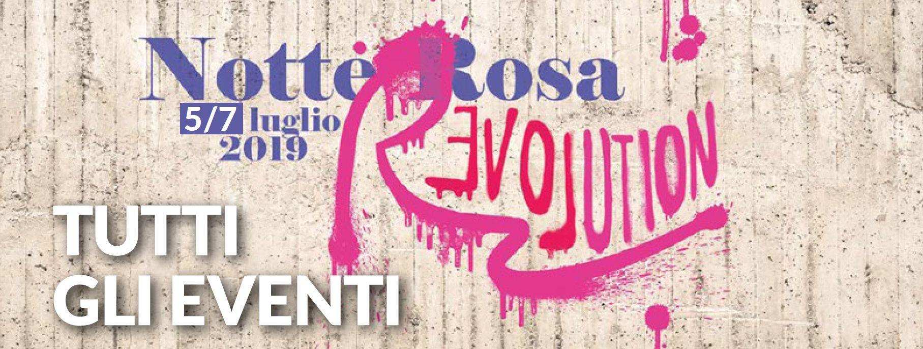 Manifesto Notte Rosa 2019