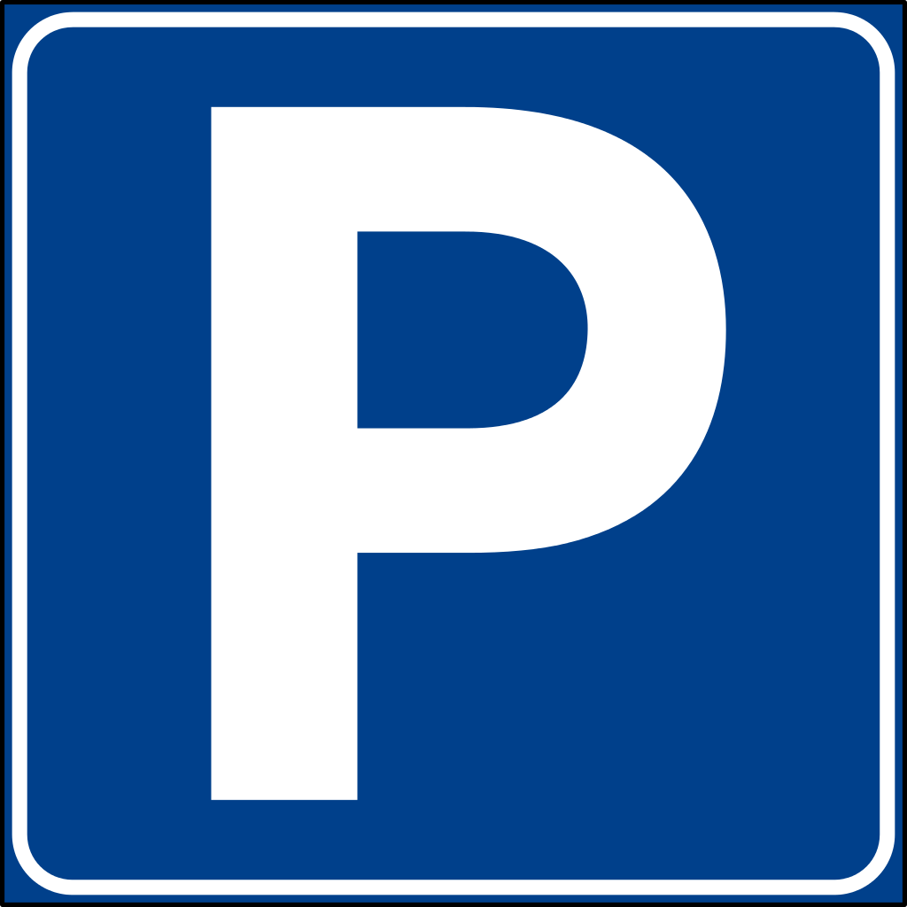 Logo parcheggio