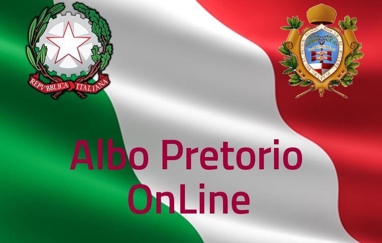 Vai all'Albo Pretorio OnLine