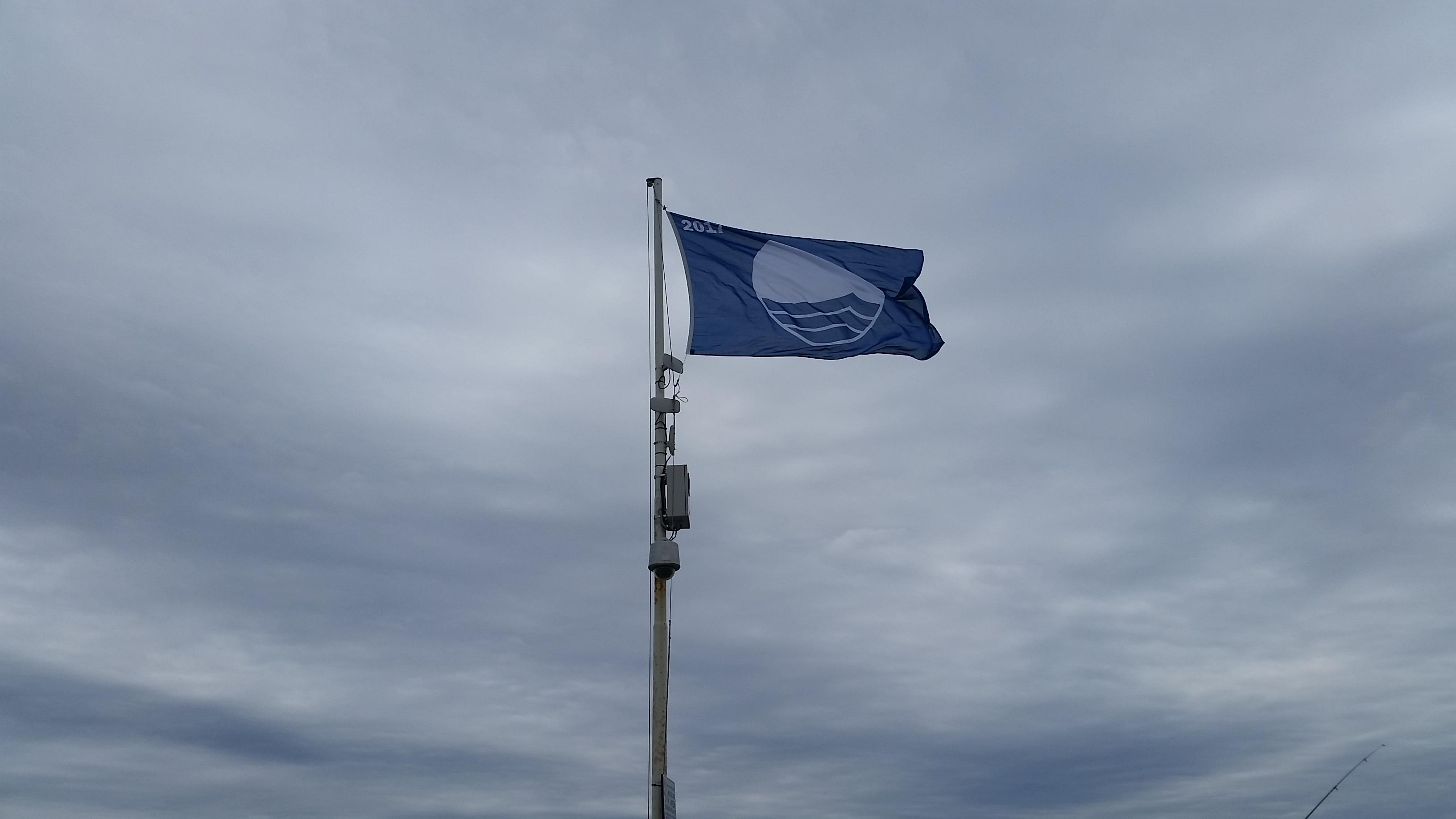 bandiera blu al moletto