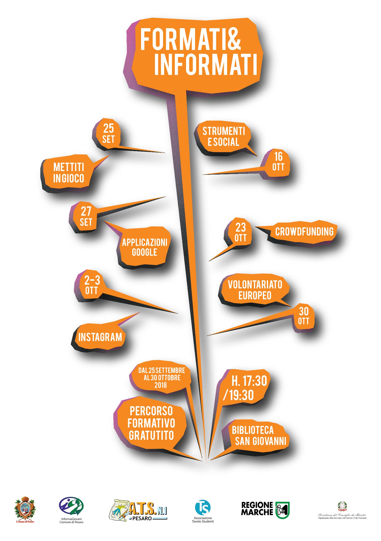 formati&informati, corso di sette lezioni, dal 25 settembre al 30 ottobre
