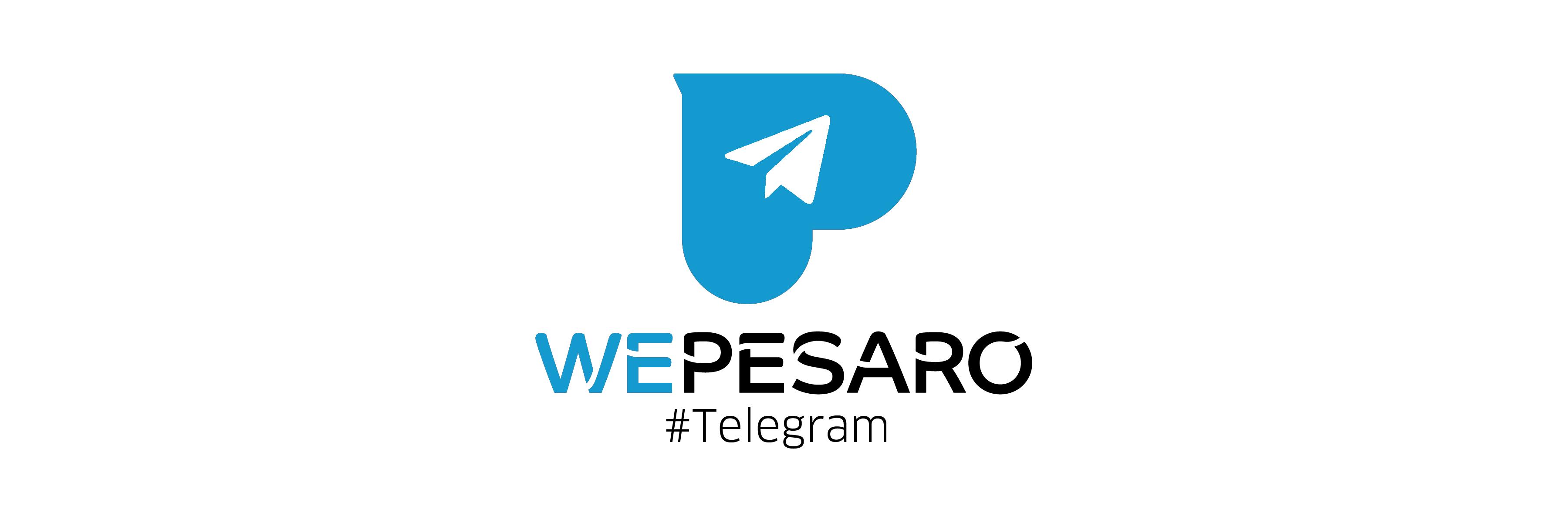 Logo Telegram Comune di Pesaro