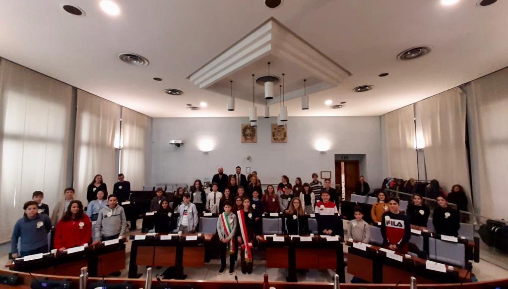 Consiglio comunale delle Ragazze e dei Ragazzi (CCR) A.S. 2019/20 e 2020/21 della Dante Alighieri