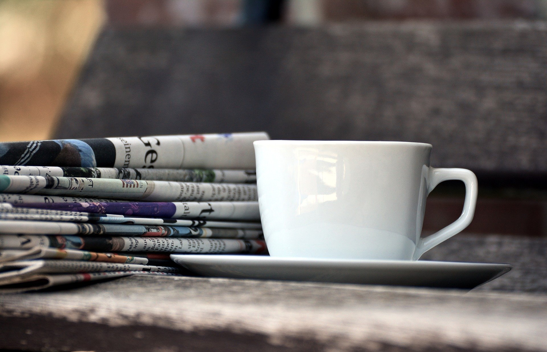 caffè e giornali
