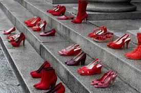 gradini son scarpe rosse