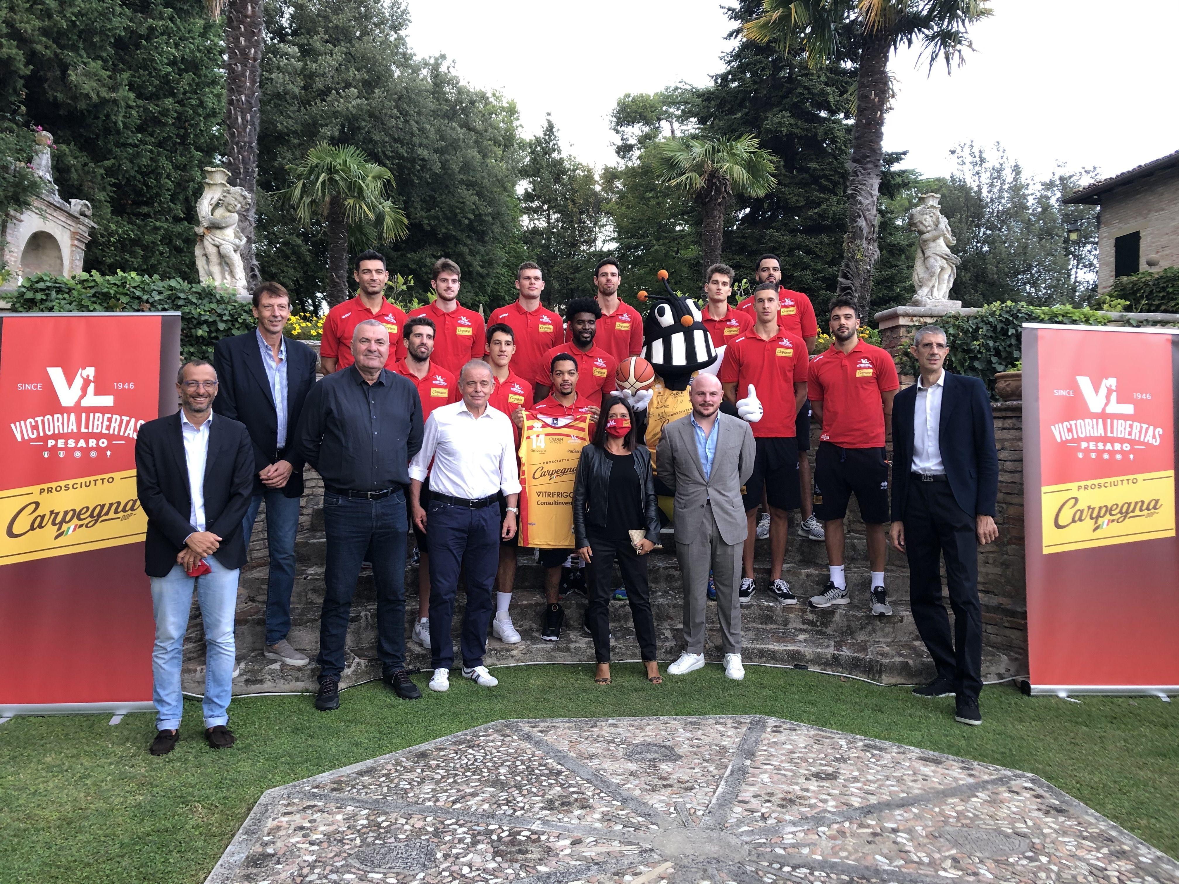 squadra di pallacanestro Carpegna Prosciutto