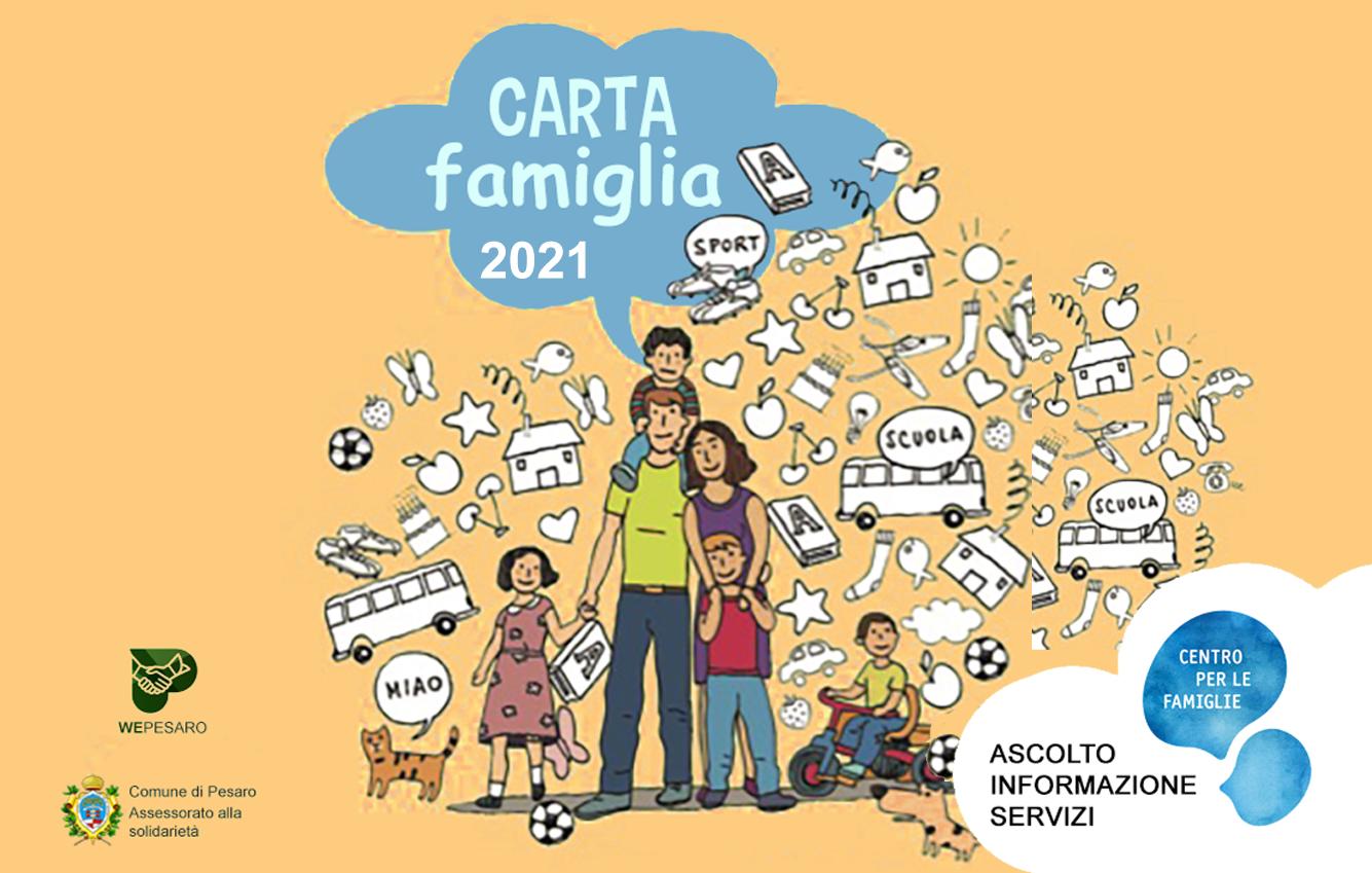 tessera Carta Famiglia