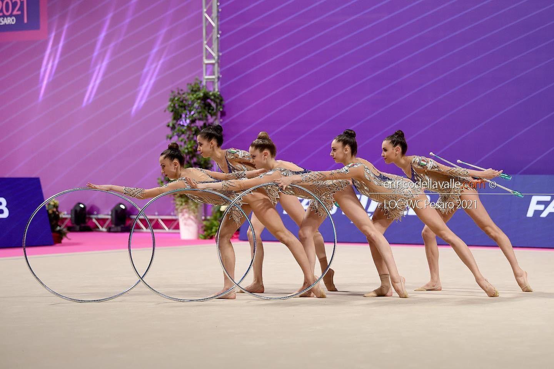 ginnaste in esibizione