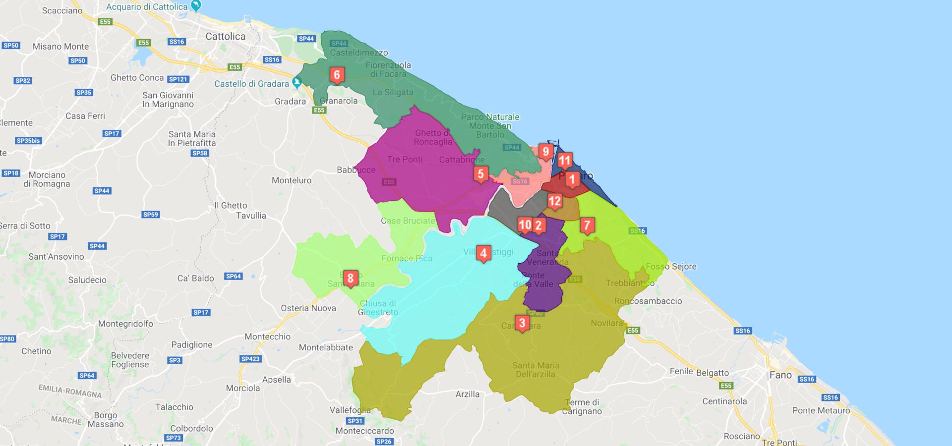 I risultati delle elezioni di quartiere