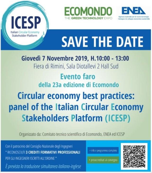 L'economia Circolare nel convegno di ICESP